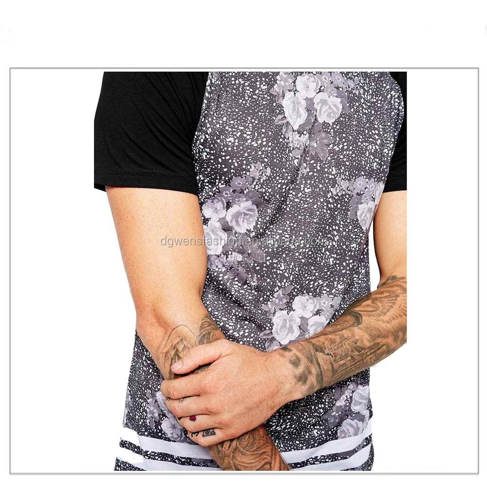 T shirt design yourself - 2016 Mens Vintage Floral Printed T Shirt Design Your Own T Shirt