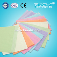 Medical and hygiene sterilization dental bibs from china factory