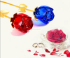 Friendship gifts crystal glass rose the best one
