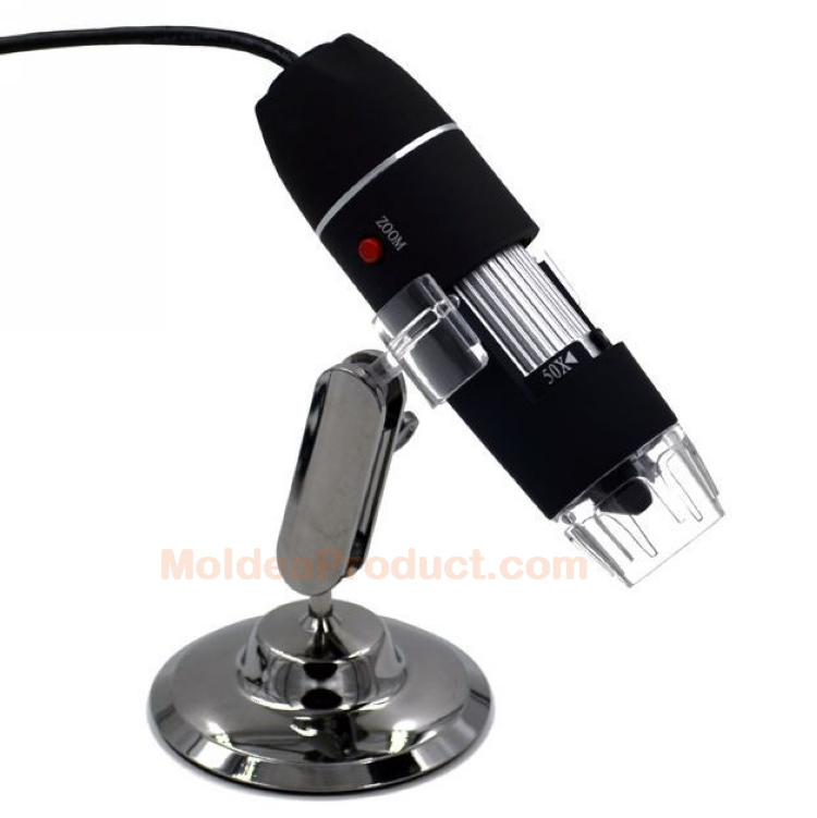 500X USB Digital Microscope - for Mobile phone Computer 24Bit DSP 50X to 500X Magnification Portable Electron Microscope