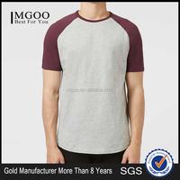 MGOO Customized Unisex T-shirt Fashion Summer 50% Polyester 50% Cotton American Apparel Raglan Tee Shirts