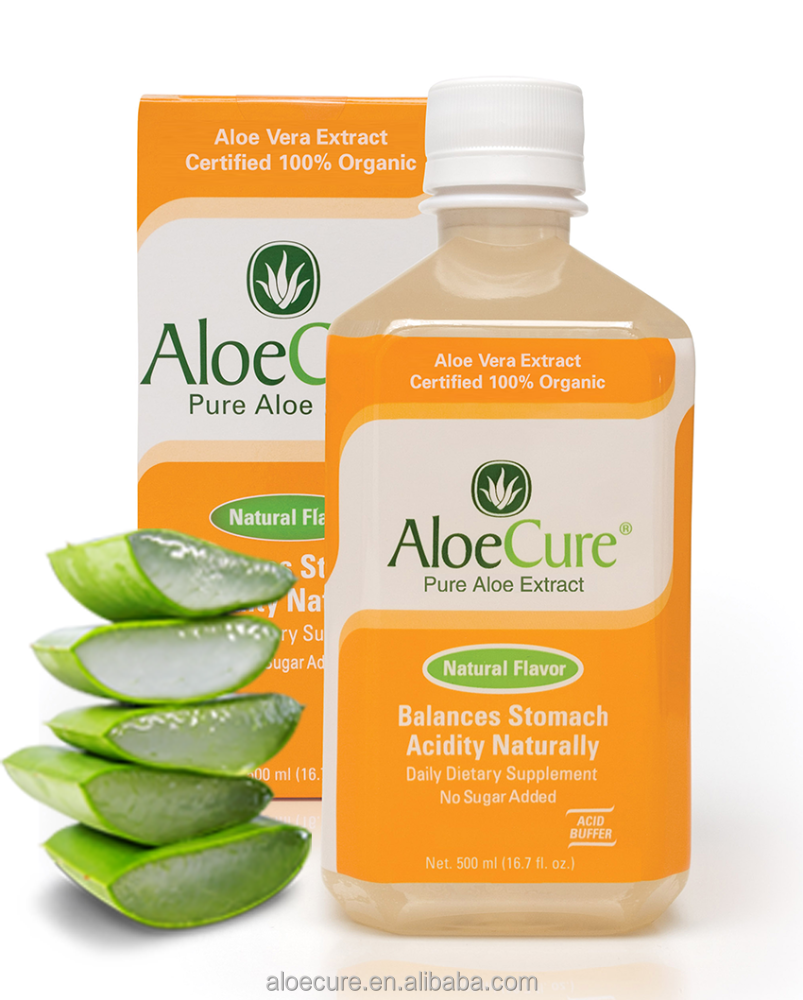 ECOCERT-Pure natural plant extracts aloe vera juice Grape flavor,aloe vera extract,stomach drink