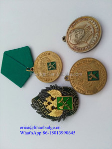 Russia Customized Metal Military Medals