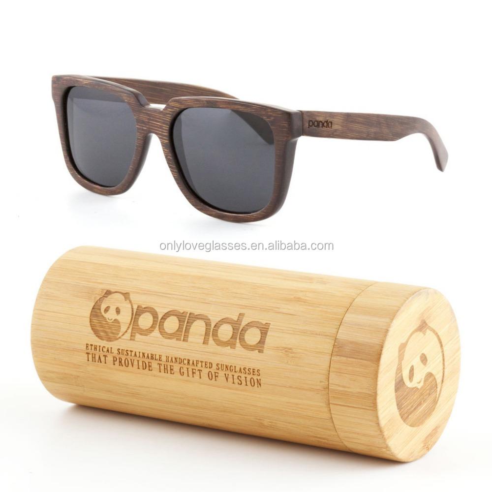 5f78c9d79de 100% Handmade Custom Logo Style Polarized Lens Bamboo Wooden Sunglasses    Bamboo Case