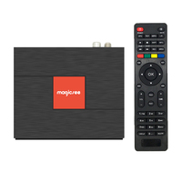 High quality C400 Plus android7.1 TV BOX Amlogic S912 Octa-core 3GB 32GB DVB DVB-S2 DVB-T2 2.4G 5.8GWIFI smart set top
