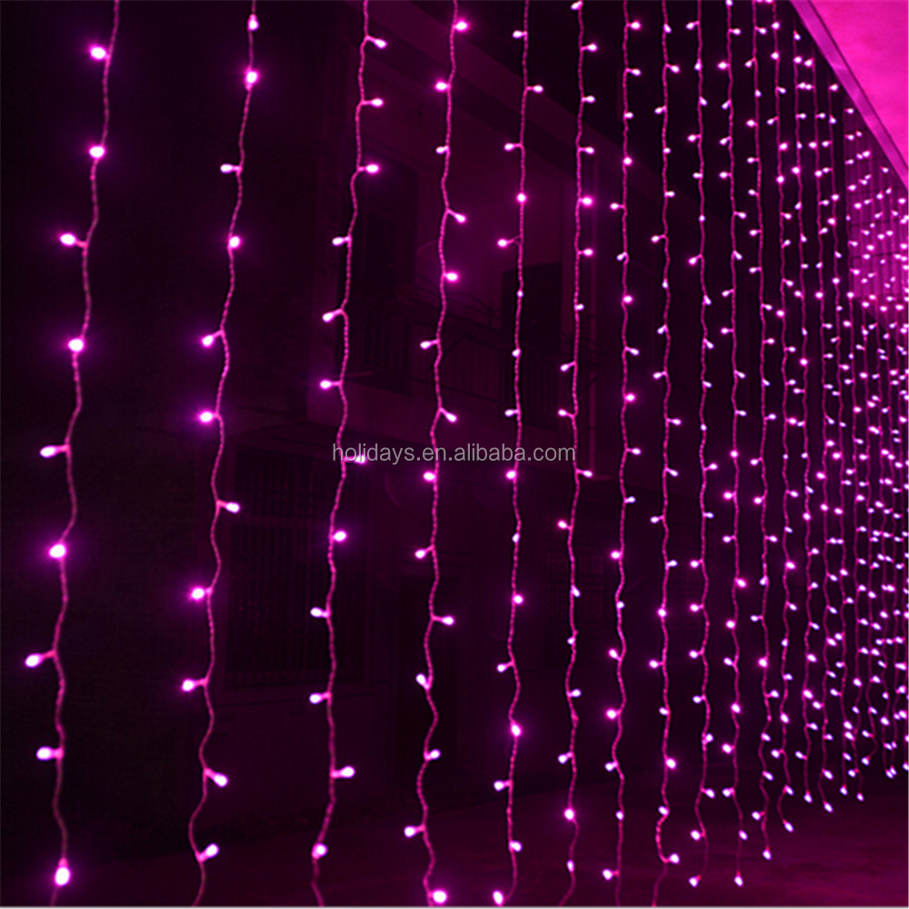 Safety Light Curtain Led Decorative Christmas Decoration Lights