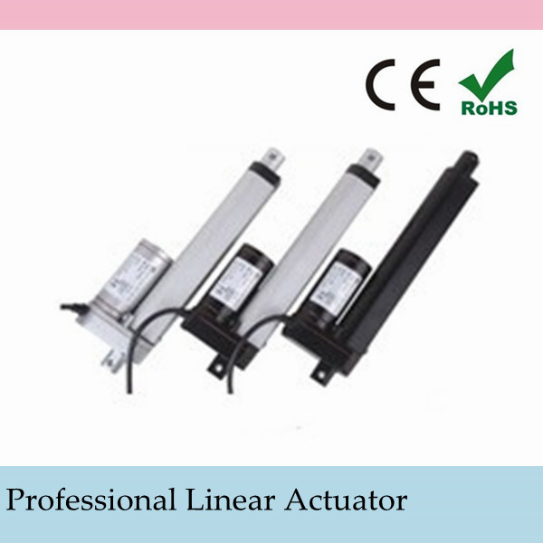 """TWO Heavy Duty 10 Inch Linear Actuator 10/"""" Stroke 200 Pound Max Lift 12 Volt DC"""
