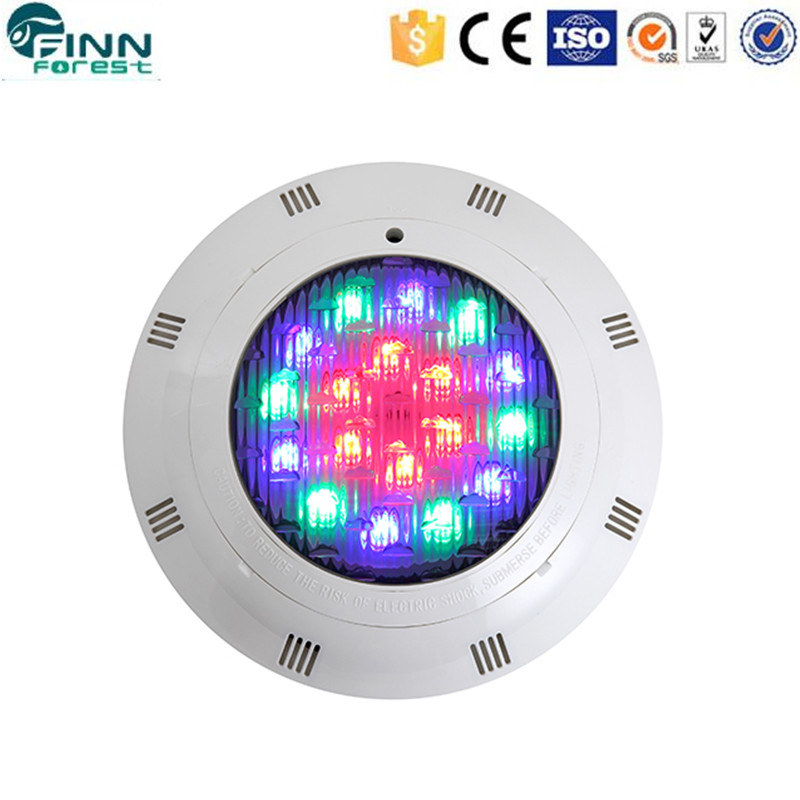 Swimming pool IP68 ABS 12w led light for pool decoration