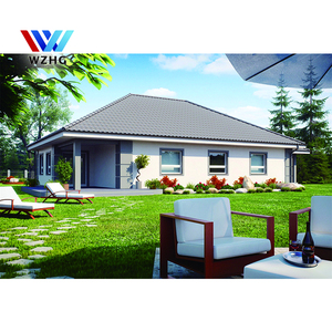 300m2 American style villa/ luxurious villa/ light steel villa house for easy and fast build