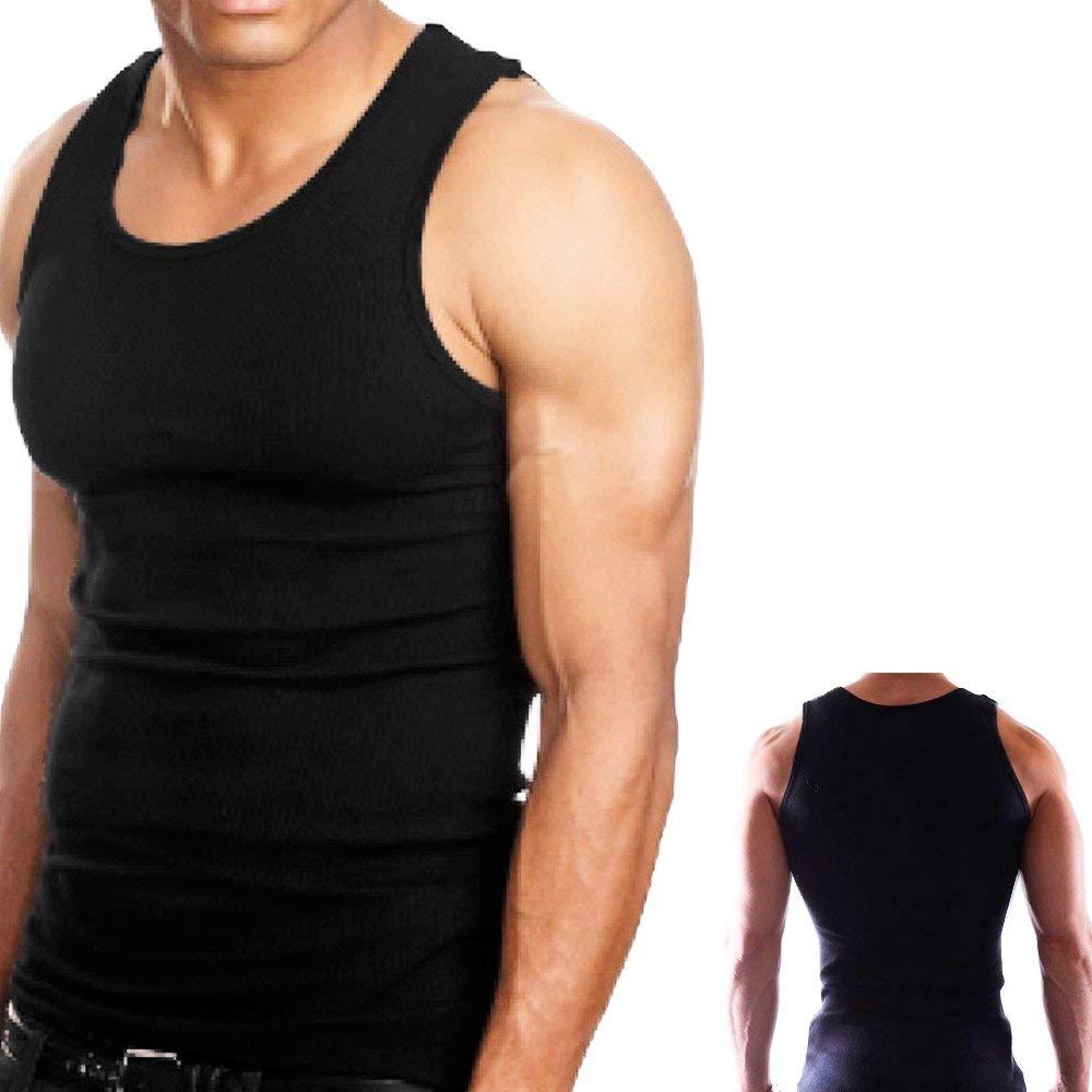 15b5b6b8f08a33 Buy Knocker Mens Tank Top Lot 100% Cotton Ribbed A-Shirt Undershirt ...