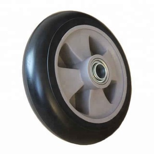 200x50 200mm Small Polyurethane Rubber Wheel Tires For Stroller