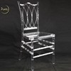 New Arrival New Fashion Design Acrylic Garden Chair For Wedding Events
