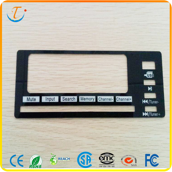 Polyester And Polycarbonate Material Graphic Overlay Front Panel