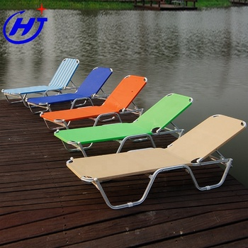 UKEA (High) 저 (Quality 캠핑 Lay Flat 대 한 Beach 안락 Aluminium Frame Swimming 풀 라운지 자