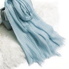Stocks available colorful summer and spring women scarf WOOL 95g