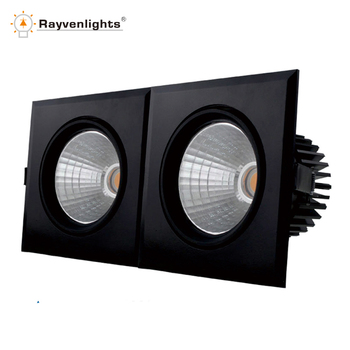 led ceiling grid light cob led lights 45w grid fluorescent ceiling ...