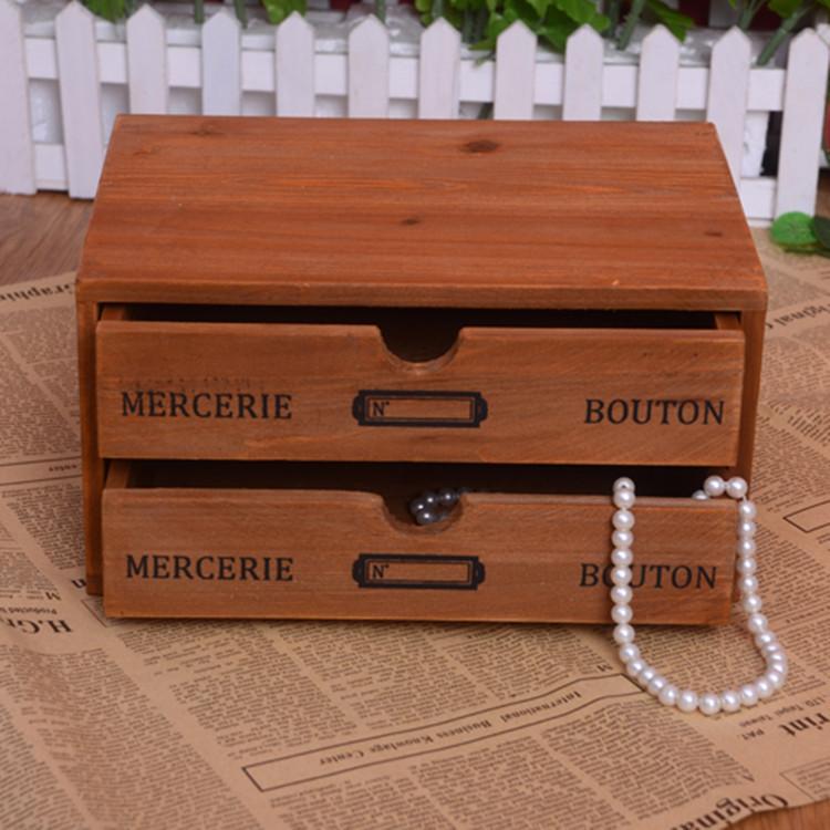 bois vintage tiroir de rangement bacs et bo tes de. Black Bedroom Furniture Sets. Home Design Ideas