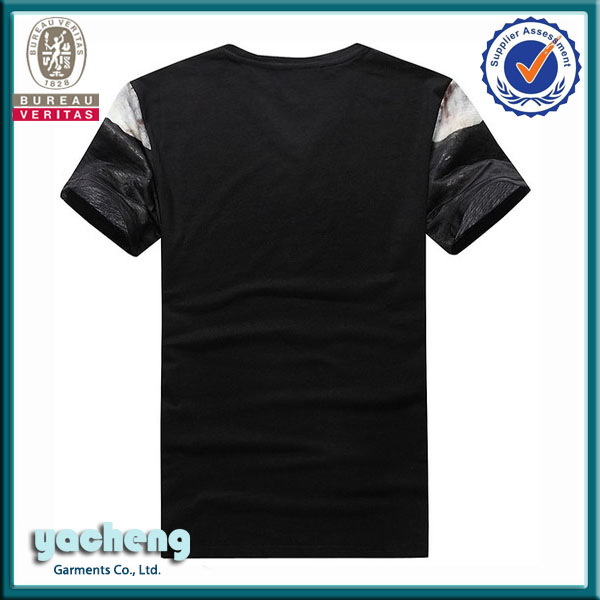 Black Blank T-shirt Latest Model T Shirtcustom Logo New York ...