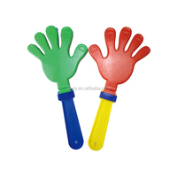 plastic football fans hand clappers OEM colorful