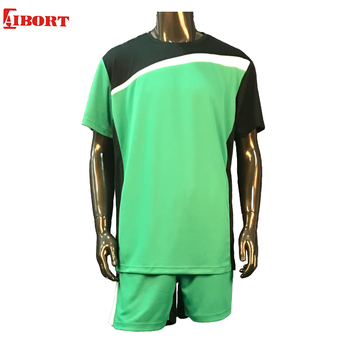 1170f93ed Wholesale Soccer Jerseys New Breathable Quick Dry Men Adult Soccer Wear  Short Sleeves T shirt Cheap