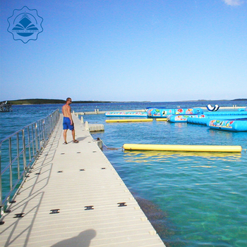 Big Size Modular Floating Dock& Pontoon Use Small Connections Install A Big  Swimming Pool For Hot Sale - Buy Floating Dock Plastic Pontoons,Floating