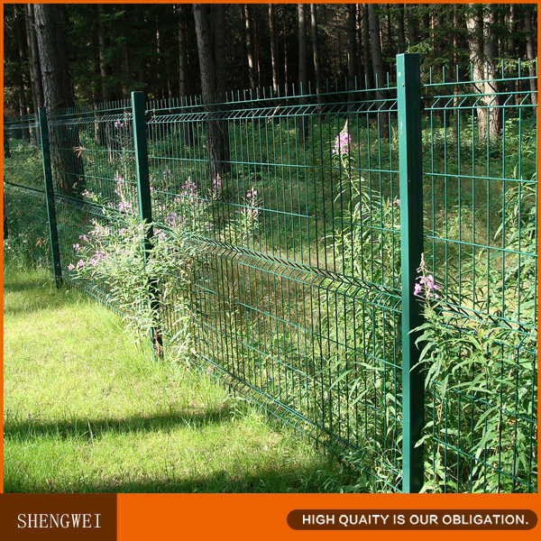 Vinyl Coated Folding Garden Wire Mesh Fence Panel For Sale - Buy ...