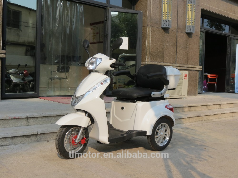 China newly designed three wheel electric mobility scooter