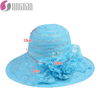 Large brim women summer foldable lace beach straw sun hats