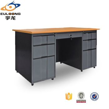 Otobi Furniture Steel Almirah Large Office Table In Desh Price