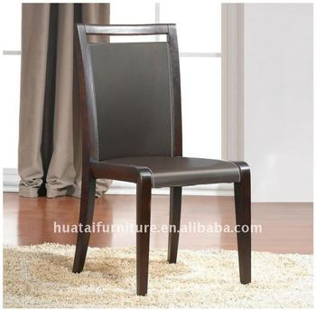 Solid Wood Kitchen Chair Italian Dining Cut Back