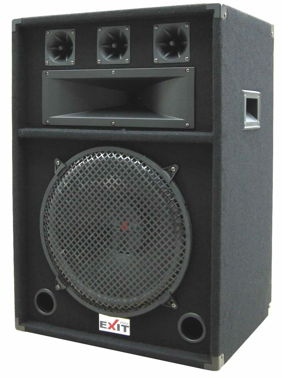 Exit Pro Dj 115 Speaker Cabinet Product On