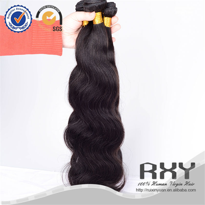 2015 super quality double drawn body wave cheap malaysian hair