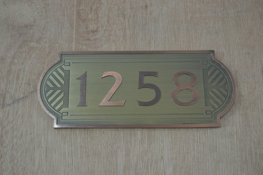 Apartment Door Number Plate Hotel Plates View