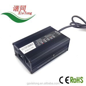 fast charging E-bike battery charger aluminum alloy housing quick charge 36V2.5A lead-acid battery charger