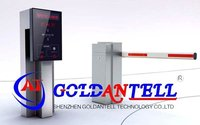 Automatic electronic car parking RFID gate barrier & access road barrier gate & parking lot barrier for uhf rfid reader