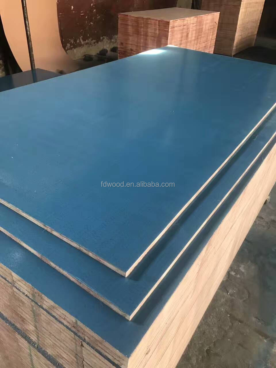 Pp Faced Plywood ~ Reusable times pp plastic formwork film faced plywood