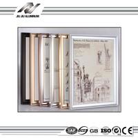 high-tech exquisite aluminum metal 11x14 decorative photo frame