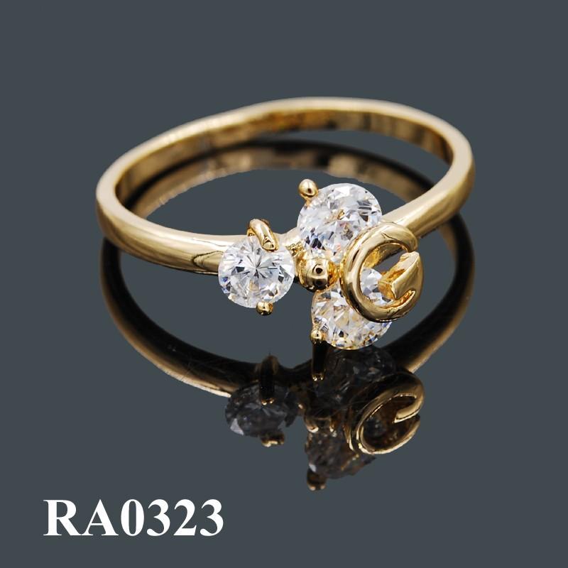 fake gold ring 18k wholesale fashion gold jewelry rings for girls women  wedding rings 1c7cfdcbb4