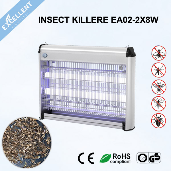 High voltaged mosquito trap with uv light lamp for family