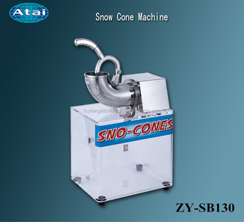 arctic blast commercial ice crusher shaver snow cone machine with box - Snow Cone Machines