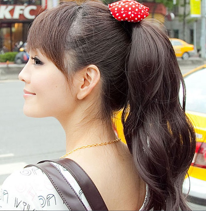 25 Awesome Japanese Ponytail Hairstyles