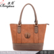 2016 fashion branded hand bag women PU leather bags designer lady handbag snake leather tote bag