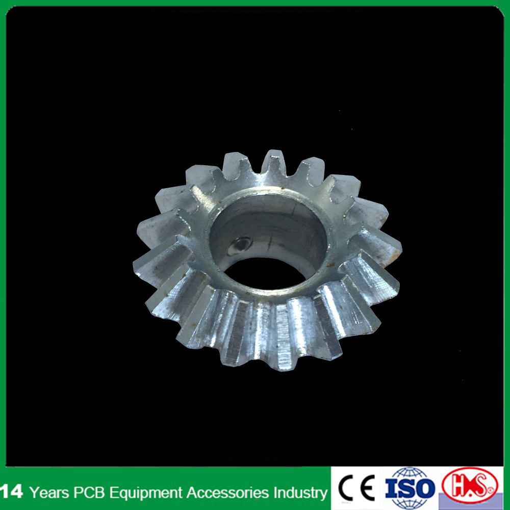 High Precision CNC metal Bevel Gear with 17 Basic Rack