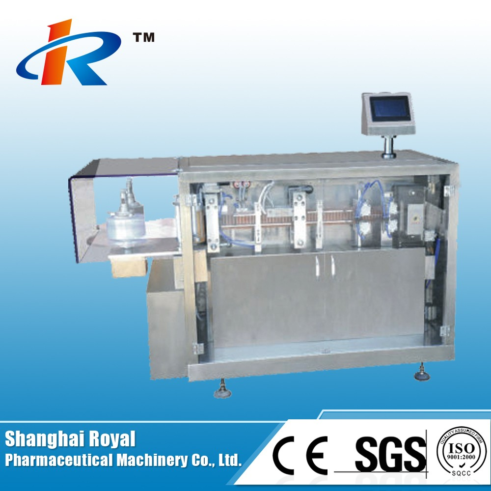 GGS-118P5 Automatic Oral Liquid Plastic Ampoule Filling Sealing Machine