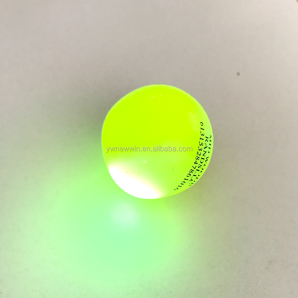 Manufacture Silicone Tpr Emoji Face Light Up Bounce Balls Charms For