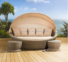 Garden furniture Rattan Day bed