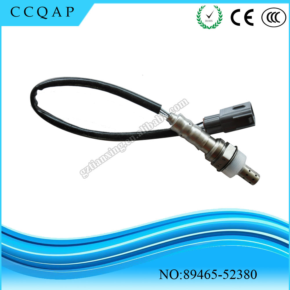 2016 Hot selling best quality cheaper price car denso lambda oxygen sensor replacement 89465-52380 for Toyota Yaris