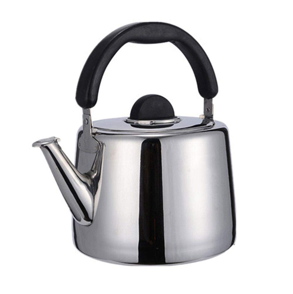 6L Whistling Tea Kettle, Stovetop Teapot Teakettles with 18/8 Stainless Steel,Available for Gas/Induction/Electric/Ceramic/Halogen/Wood Stove