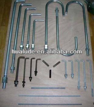 Hot Sale Anchor Bolts L Bolts&&masonry Anchor Bolt Standard 11year ...