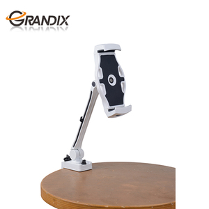 360 Rotating Flexible Clamp Base Long Arm stand lazy bed desktop tablet flexible cell phone holder